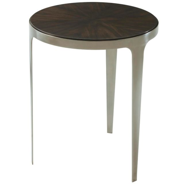 Theodore Alexander Cordell Side Table in Veneer