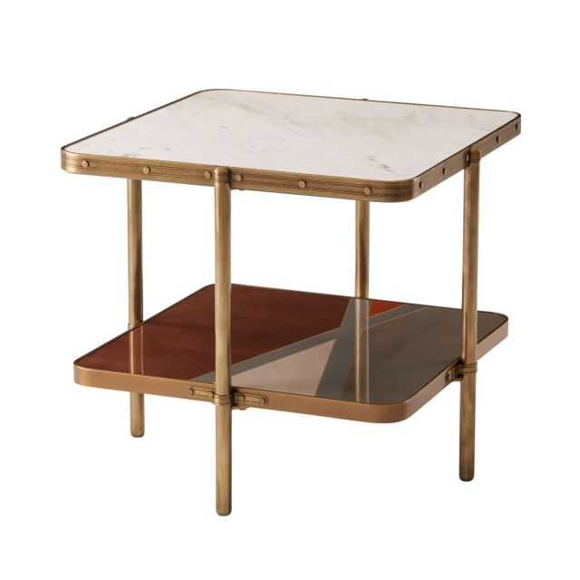 Theodore Alexander Iconic Two Tiered Side Table