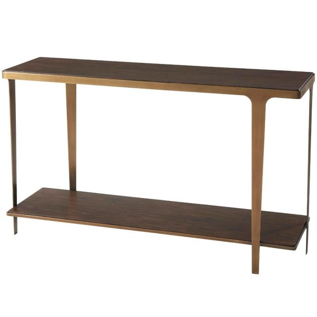 Theodore Alexander Cordell Console Table in Veneer