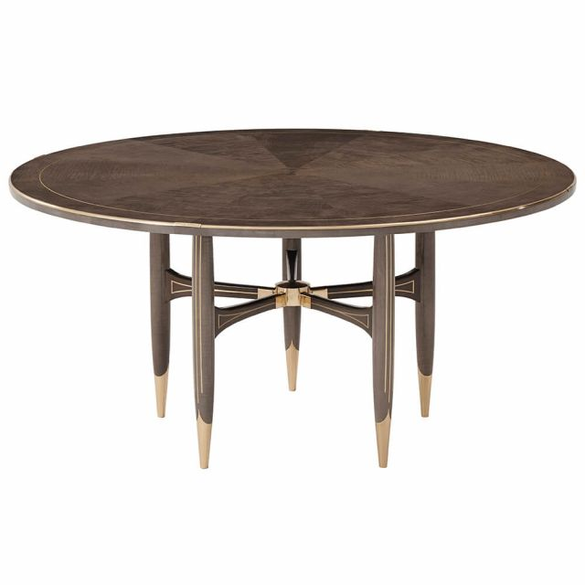 Theodore Alexander Grace Round Dining Table - Large / Agate