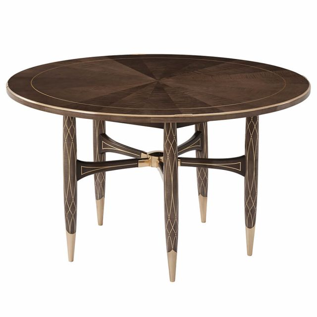 Theodore Alexander Grace Round Dining Table - Small / Agate