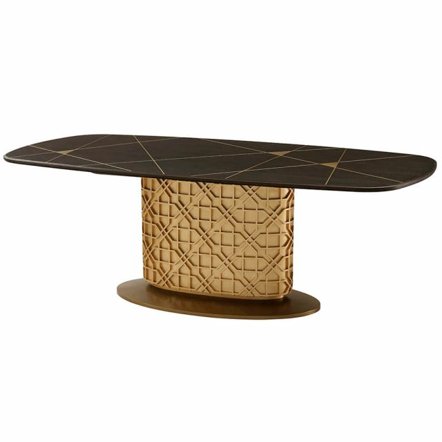Theodore Alexander Colter Oval Dining Table III