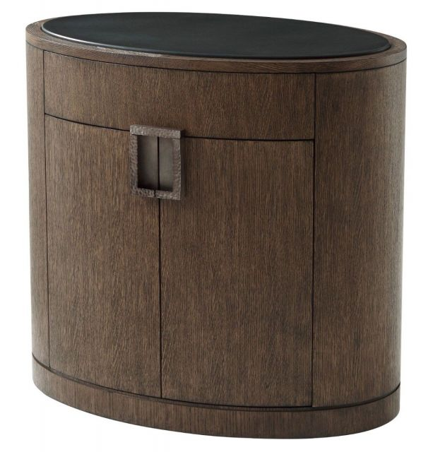Theodore Alexander Bedside Chest Nario in Charteris Finish