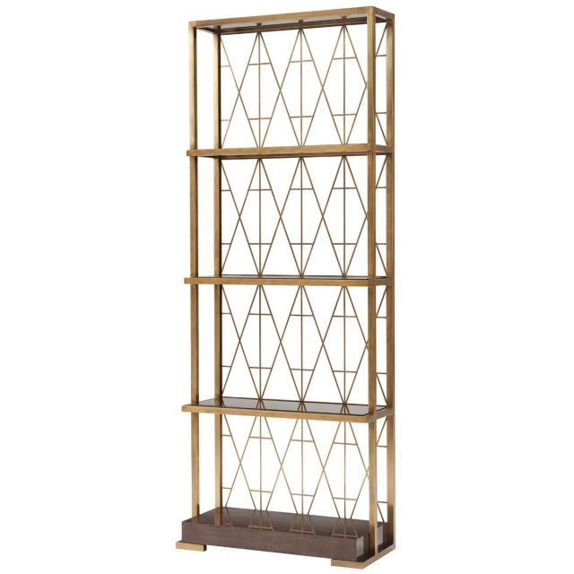 Theodore Alexander Iconic Shelving Unit