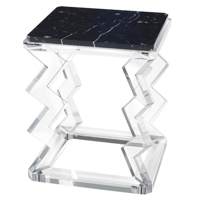 Theodore Alexander Accent Table Oscillate - Acrylic