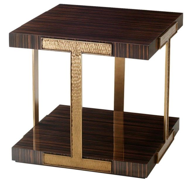 Theodore Alexander End Table Tau