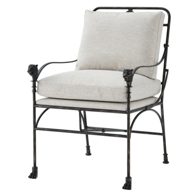 Theodore Alexander Accent Chair Ashbury in Marble