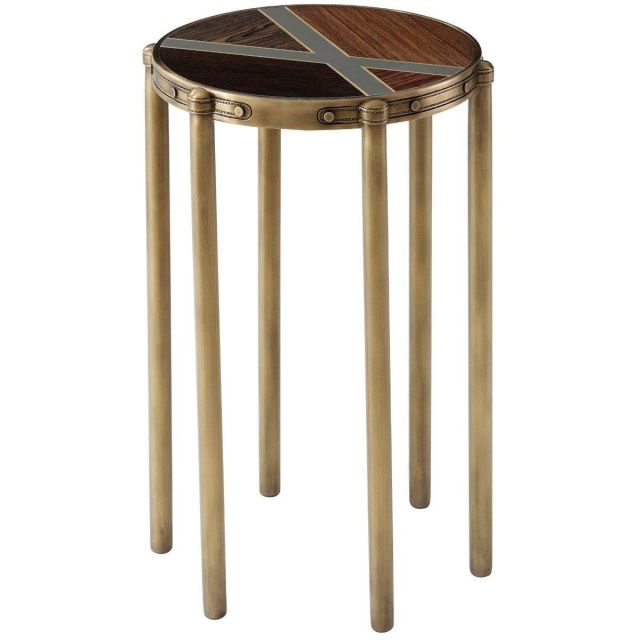 Theodore Alexander Accent Table Iconic in Veneer
