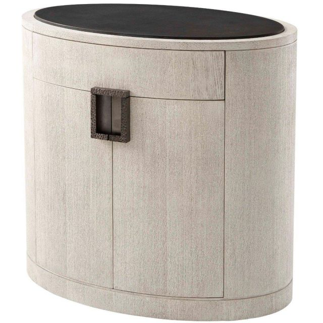 Theodore Alexander Bedside Chest Nario in Gowan Finish