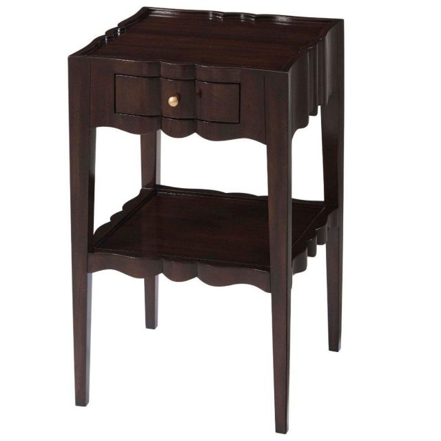 Theodore Alexander Bedside Table Addison in Cambridge Finish