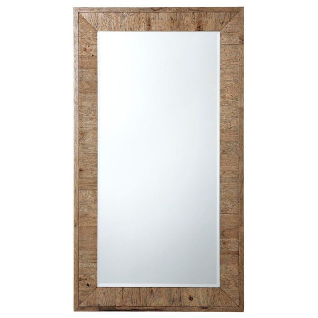 Theodore Alexander Wall Mirror Insight in Echo Oak