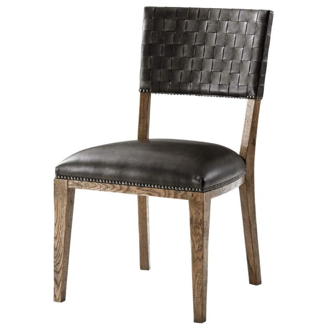 Theodore Alexander Coleshill Dining Chair in Leather