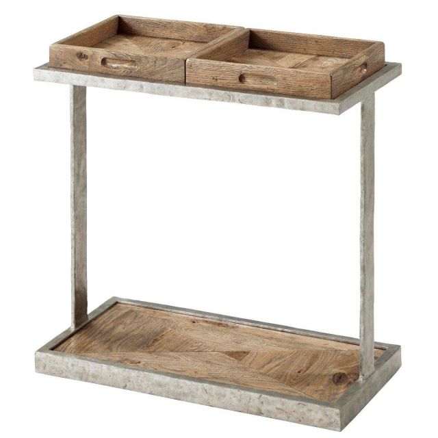 Theodore Alexander Accent Table Rawlins in Echo Oak