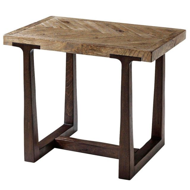 Theodore Alexander Accent Table Stafford in Echo Oak