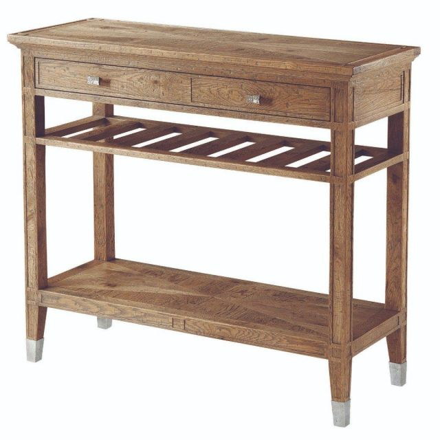 Theodore Alexander Console Table Ardern in Echo Oak
