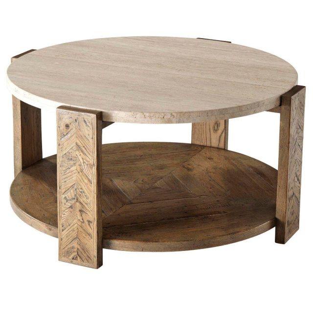Theodore Alexander Coffee Table Lawson in Echo Oak