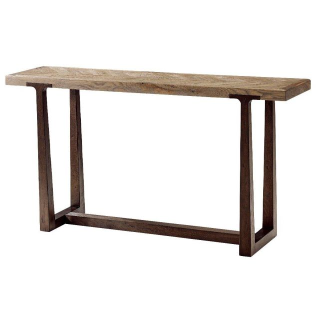 Theodore Alexander Console Table Stafford in Echo Oak