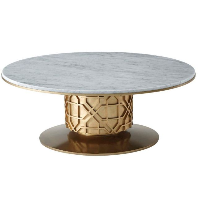 Theodore Alexander Centre Table Colter - Marble