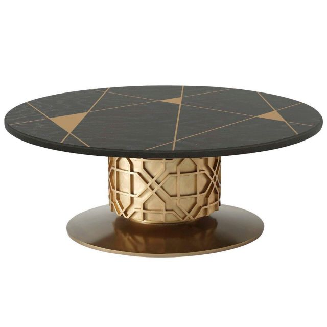 Theodore Alexander Centre Table Colter II - Bronze Oak