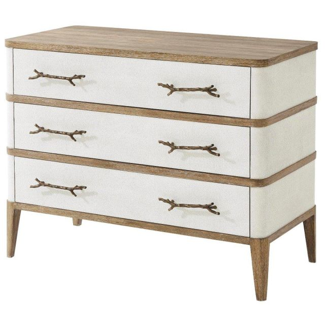 Theodore Alexander Chest of Drawers Brandon in Bronze