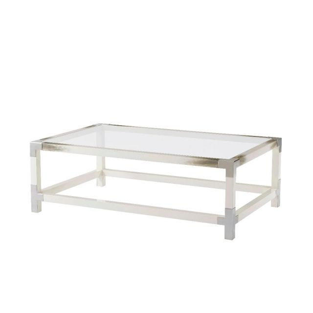 Theodore Alexander Coffee Table Cutting Edge