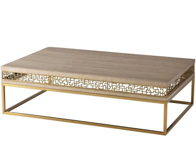 TA Studio Frenzy Coffee Table in Sycamore