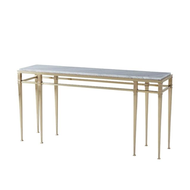 Theodore Alexander Console Table Annalyn - Marble