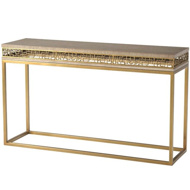 TA Studio Frenzy Console Table in Sycamore