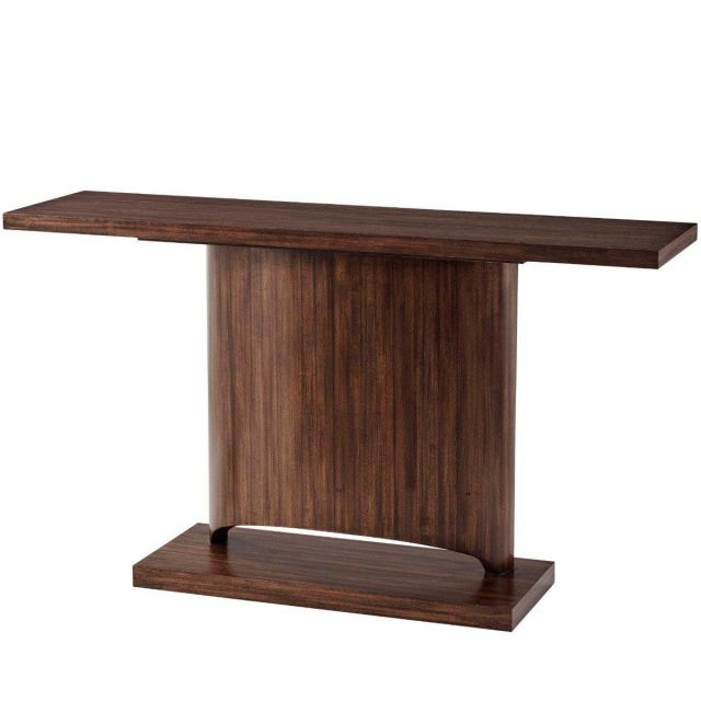 Theodore Alexander Console Table Marliss in Hazelnut