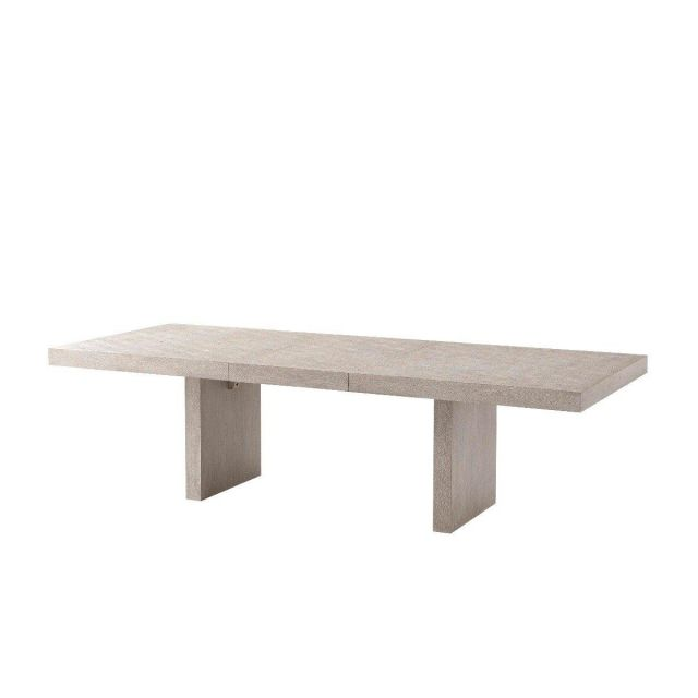 Theodore Alexander Dining Table Sadowa in Driftwood