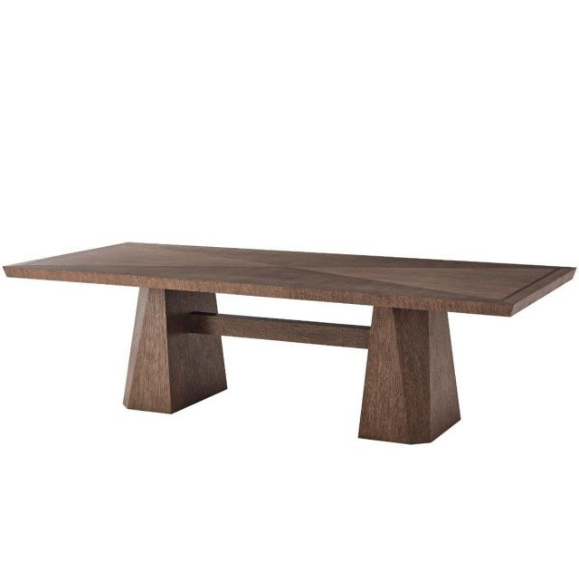Theodore Alexander Dining Table Vicenzo in Charteris Finish