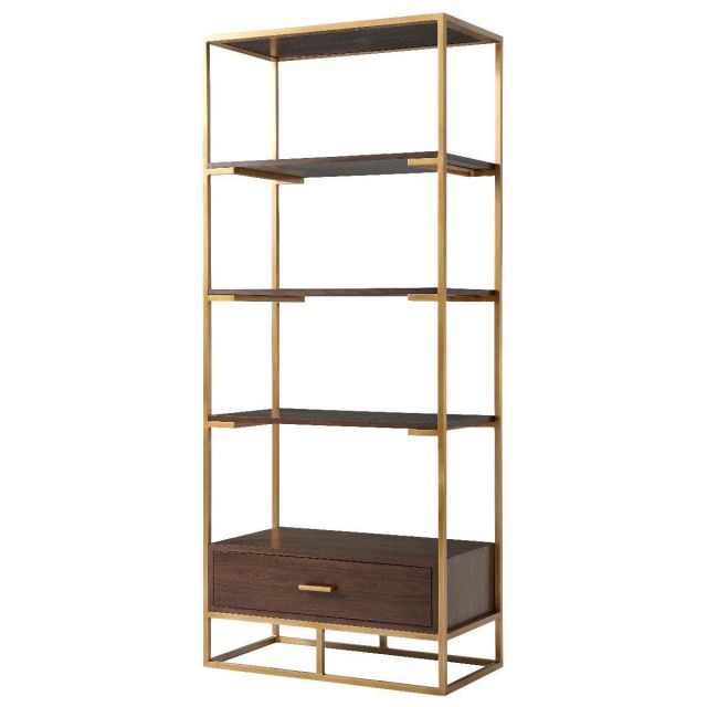 TA Studio Etagere Fisher in Brass