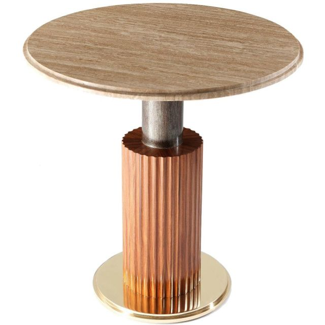 Theodore Alexander Side Table Vladimir
