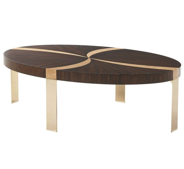 Theodore Alexander Coffee Table Whirlpool