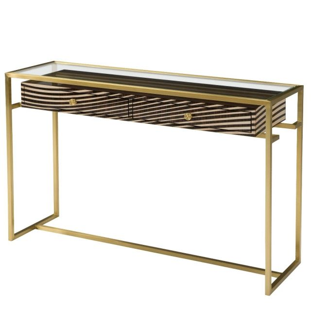 Theodore Alexander Console Table Suspense