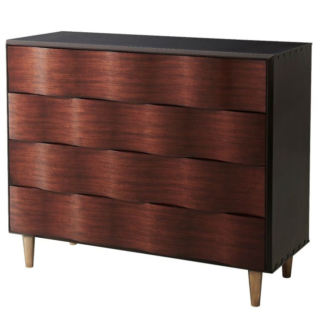 Theodore Alexander Chest of Drawers Low Weave