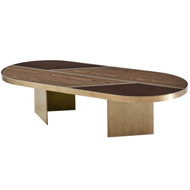 Theodore Alexander Large Coffee Table Iconic