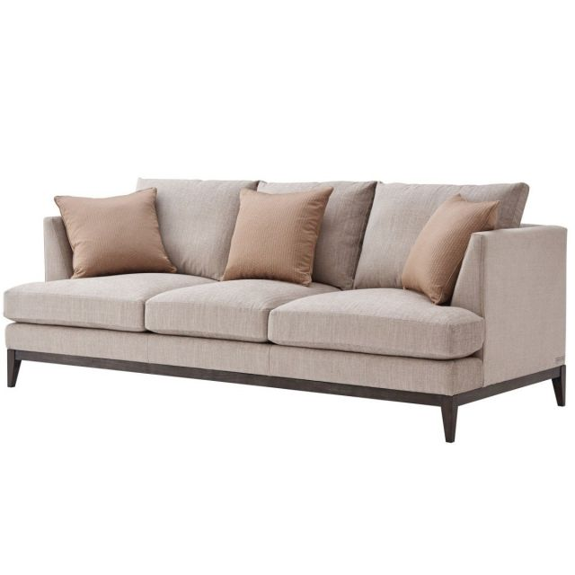 TA Studio Large Sofa Byron in Morgan Linen