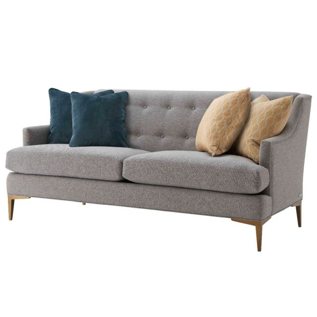 TA Studio Loveseat Elaine in Pewter