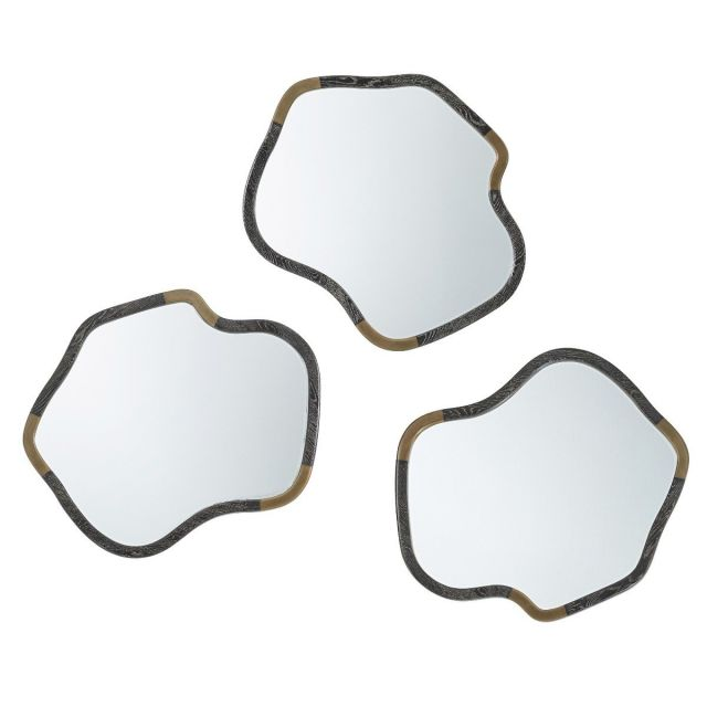 Theodore Alexander Wall Mirrors Tide Set of 3