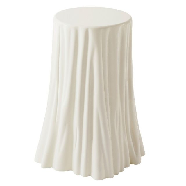 Theodore Alexander Side Table Draper in Pear