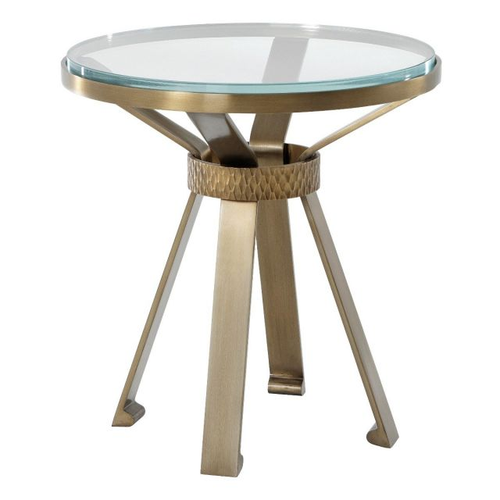 Theodore Alexander Round Side Table Camden