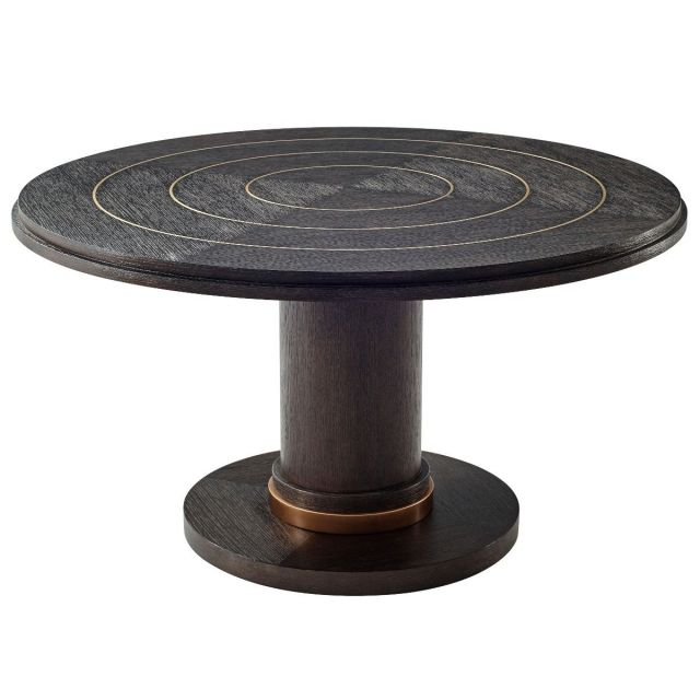 Theodore Alexander Round Dining Table Rialto