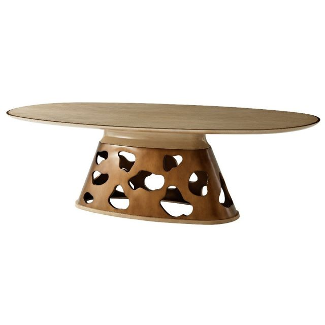 Theodore Alexander Large Dining Table Flint