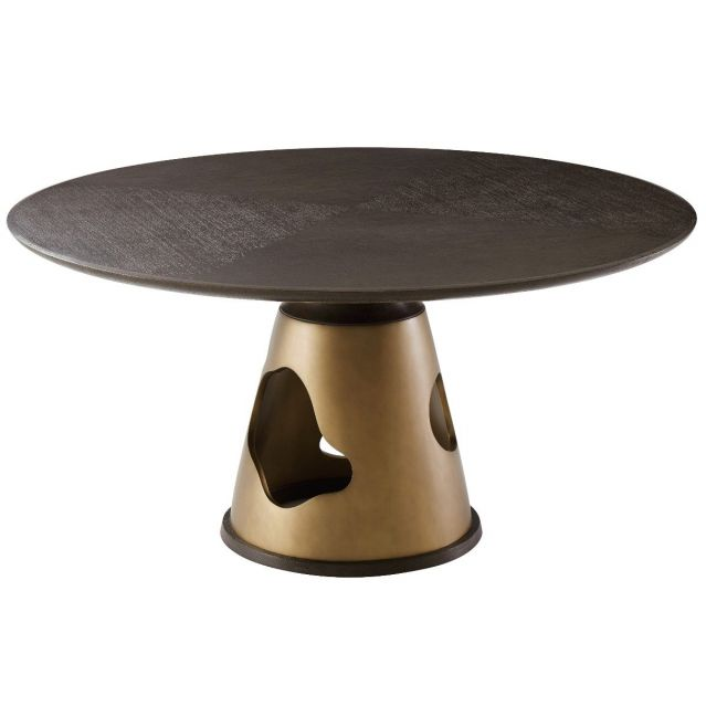 Theodore Alexander Large Dining Table Flint - Blackwood
