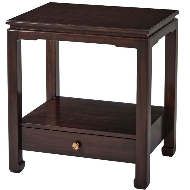 Theodore Alexander Rectangle Side Table Timothy