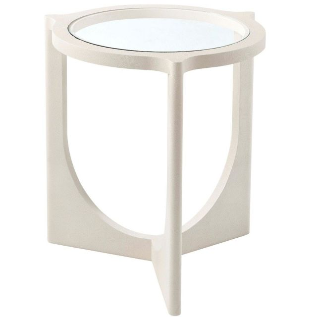 Theodore Alexander Round Side Table Eduard