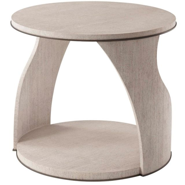 Theodore Alexander Side Table Adelmo in Gowan Finish