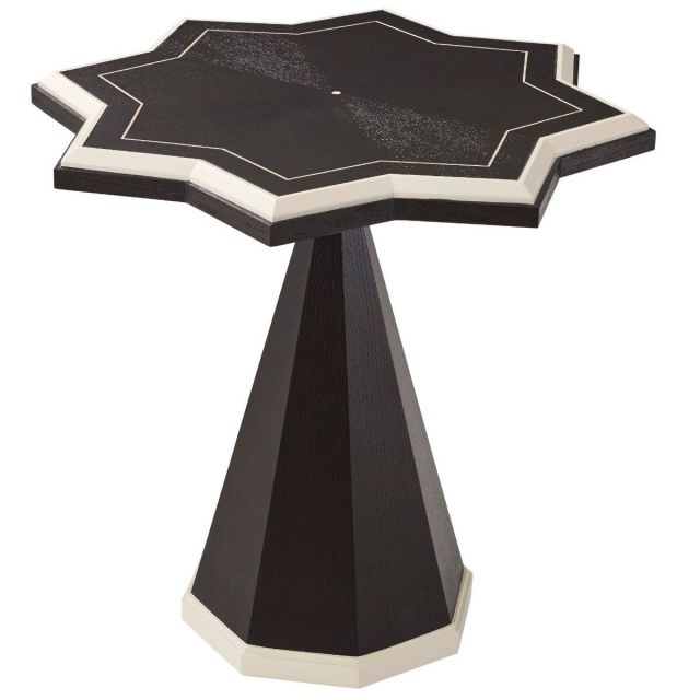 Theodore Alexander Side Table Atticus - Ebonized Oak