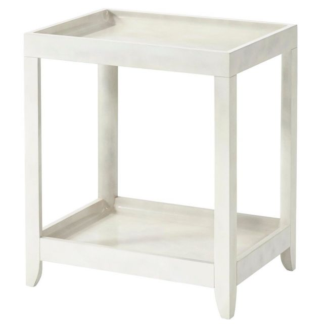 Theodore Alexander Side Table Brentwood - Faux Parchment